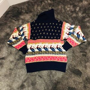Vintage 70s Bird sweater